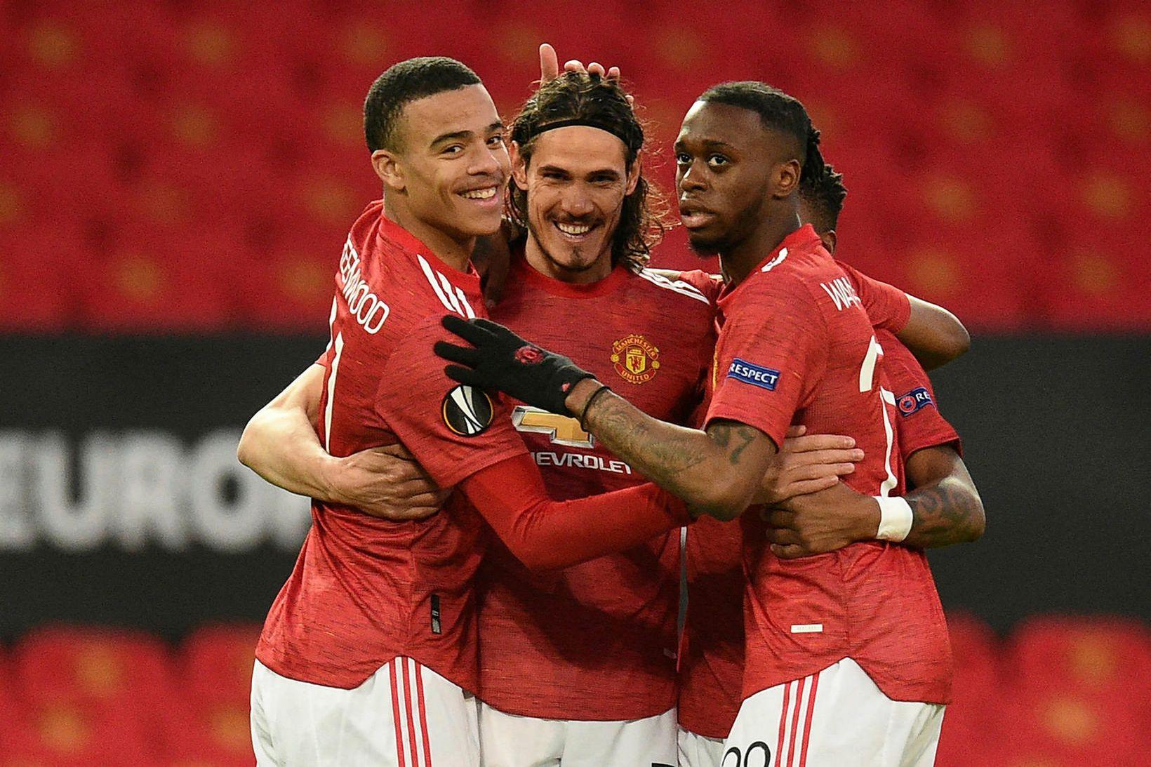 Manchester United getur saxað á forskot Manchester City á toppi …