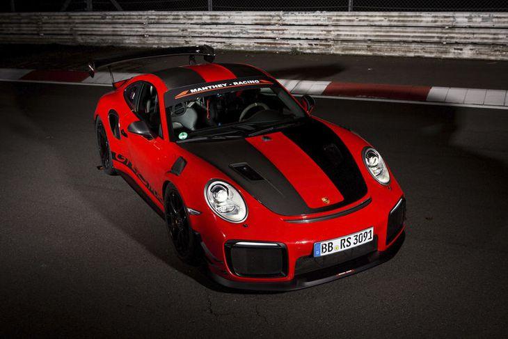 Porsche GT2 RS MR bíllinn stóð undir væntingum.