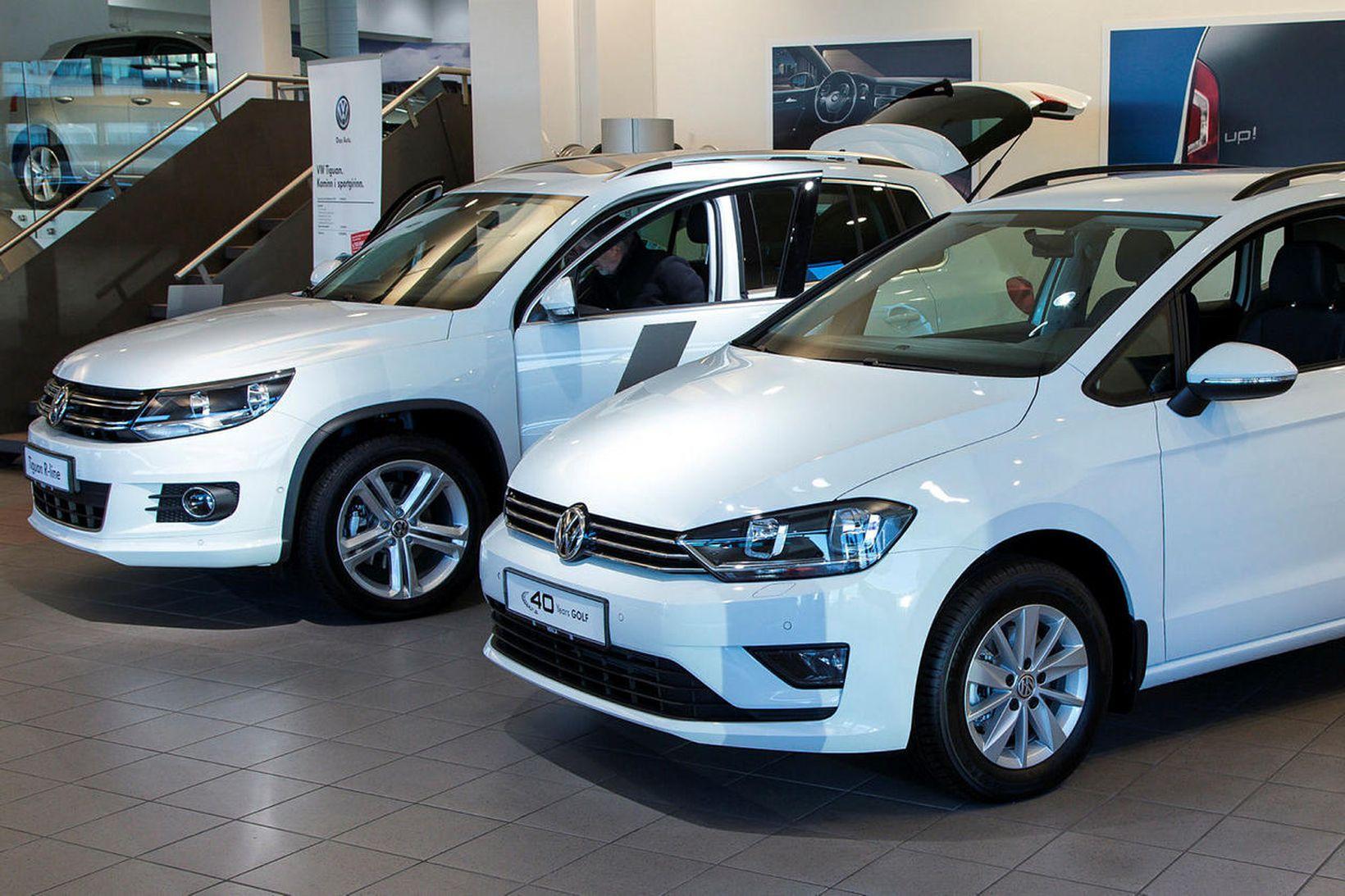 Volkswagen e-Golf frumsýndur hjá Heklu.