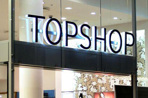 TopShop in Kringlan.