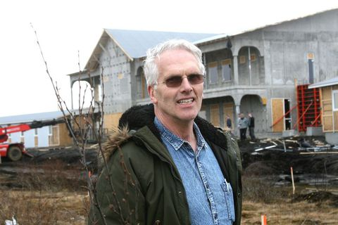 Hreiðar Hermannsson, director of Stracta Hotel.
