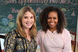 Jenna Bush Hager og Michelle Obama segja báðar að Wilson Jerman hafi gert Hvíta húsið …