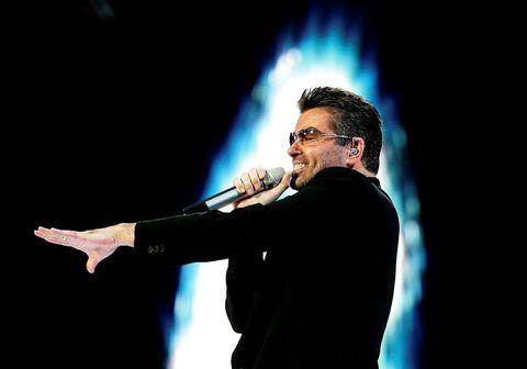 George Michael á tónleikum árið 2007.