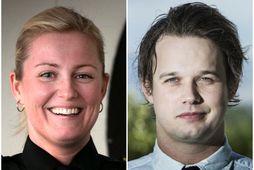 Alda Hrönn Jóhannsdóttir og Gunnar Scheving Thorsteinsson, annar lögreglumannanna sem kærðu Öldu.