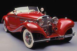 Mercedes 500K sem framleiddur var á árunum 1934 – 1936.