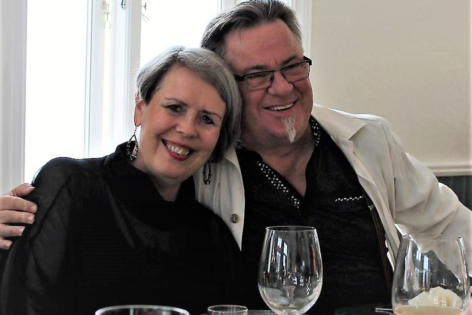 Sigurborg Hannesdóttir og Ingi Hans.