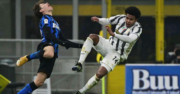 Weston McKennie hefur leikið mjög vel með Juventus í vetur.