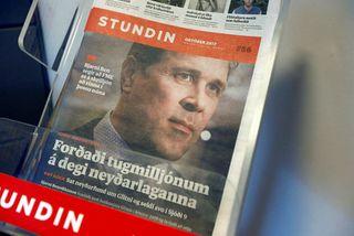 """""""522 dögum eftir að lögbann var sett á umfjöllun Stundarinnar og Reykjavik Media um viðskipti ..."""