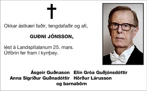 Guðni Jónsson,
