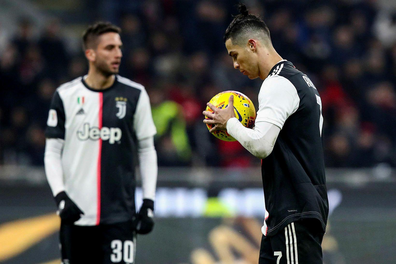 Cristiano Ronaldo skoraði jöfnunarmarkið úr víti.