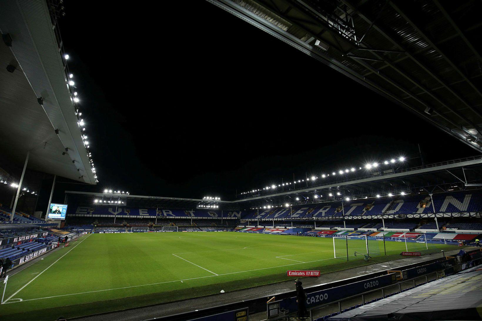 Everton verður ekki mörg ár enn á Goodison Park.