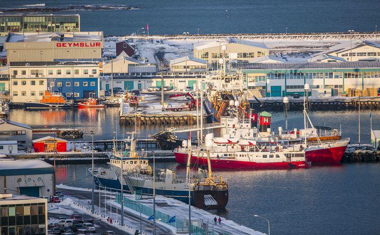 Reykjavík´s West Harbour