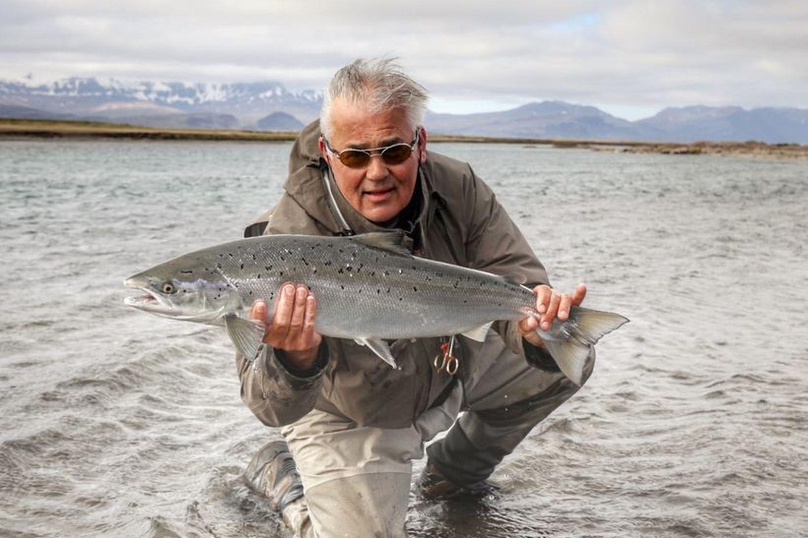 Ingólfur Ásgeirsson leigutaki er afskaplega ánægður með stöðuna í Brennunni. …