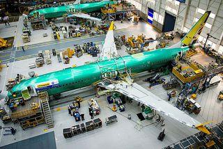 Ný Boeing Max9-ER-vél Primera.