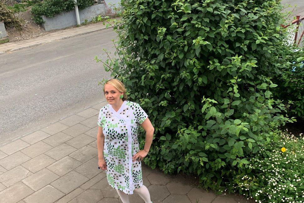 Í mörg ár hefur Thelma ekki klæðst öðru en vintage ...