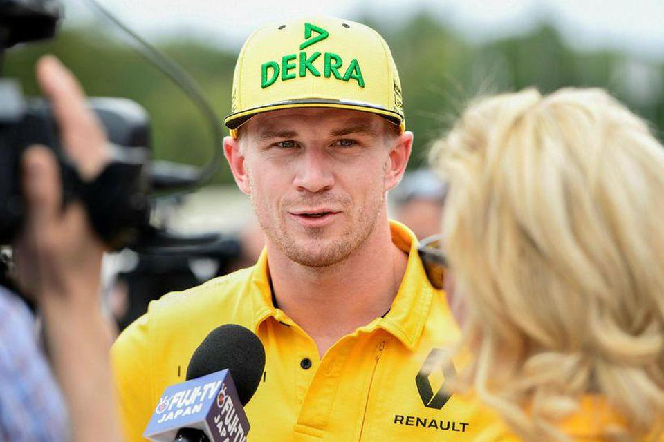 Nico Hülkenberg er ánægður hjá Renault.