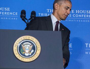 Barack Obama, forseti Bandaríkjanna.