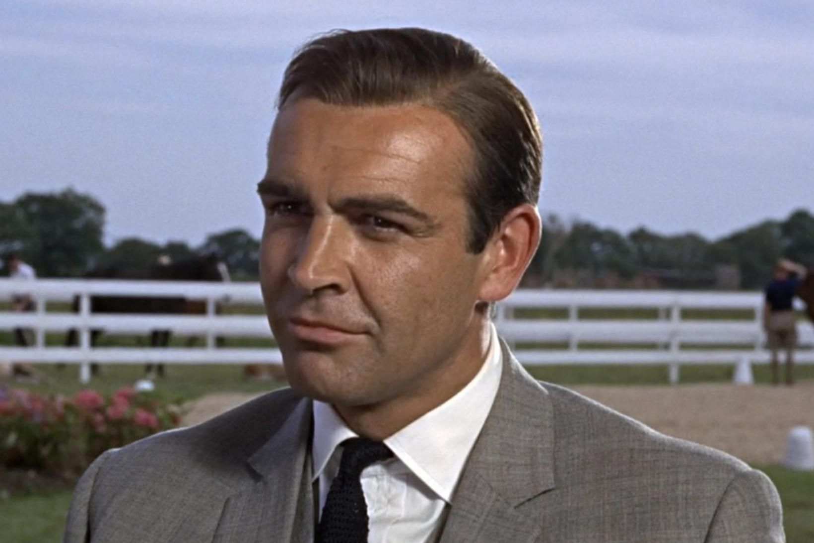 Sean Connery í hlutverki sínu sem James Bond.