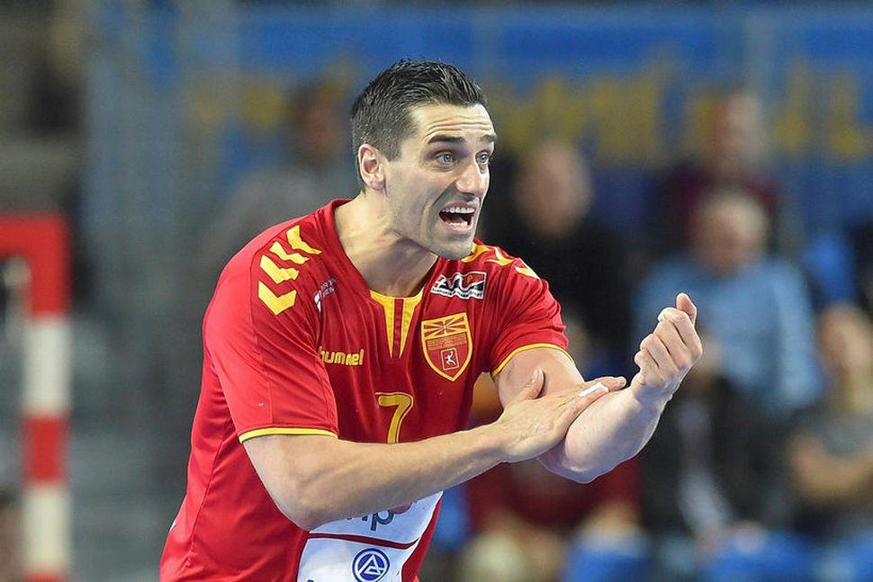 Kiril Lazarov skorar og skorar.