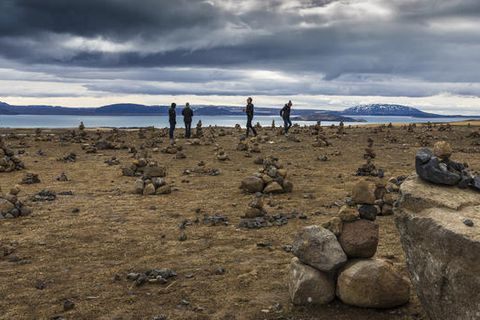 Cairns built by tourists are becoming a serious nuisance at the Þingvellir national park.