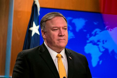 Mike Pompeo will be in Iceland next Friday.
