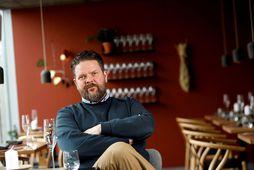 Gunnar Karl Gíslason, eigandi veitingastaðarins Dills á Laugavegi, eina Michelin-stjörnustaðar landsins.