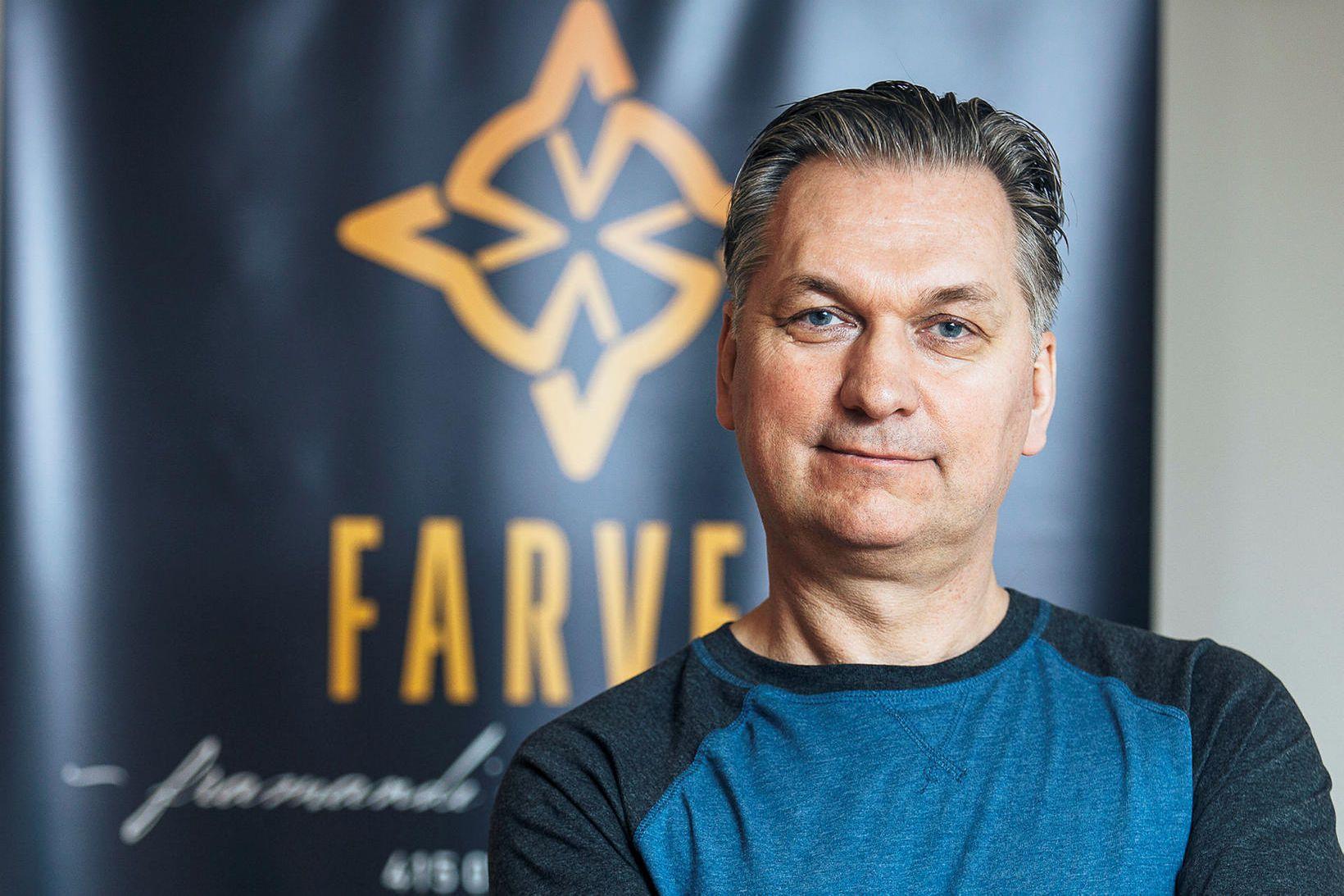 Viktor Sveinsson, framkvæmdastjóri Farvel.