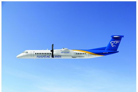 An artist's impression of the new aircraft.