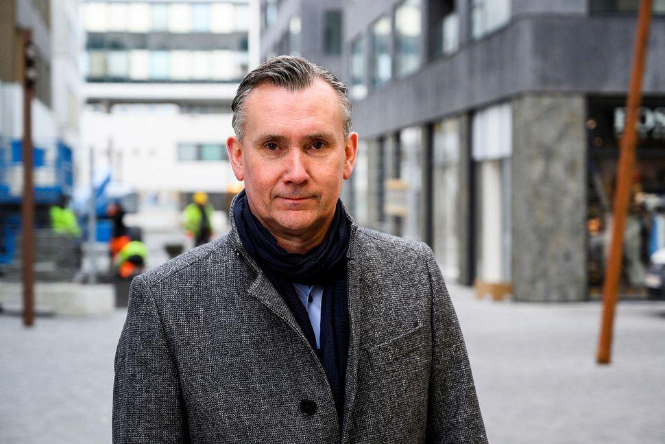 Helgi S. Gunnarsson er forstjóri Regins.