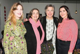 Ragna Sigurðardóttir, Steinunn Valdís Óskarsdóttir, Björk Vilhelmsdóttir og Sonja Björg Jóhannsdóttir.